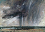 John Constables Rainstorm over the sea