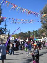 Folk Festival Street Scene